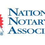 Now A Member Of The National Notary Association